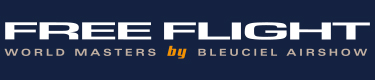 logo FREE FLIGHT by Bleuciel Airshow