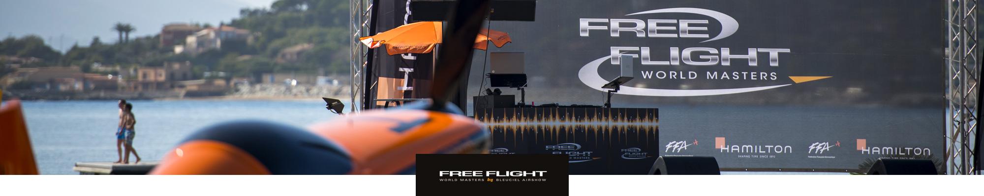 Free flight meeting aérien