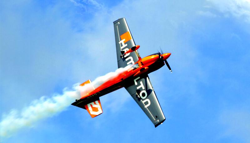 Free flight Hamilton par bleuciel airshow