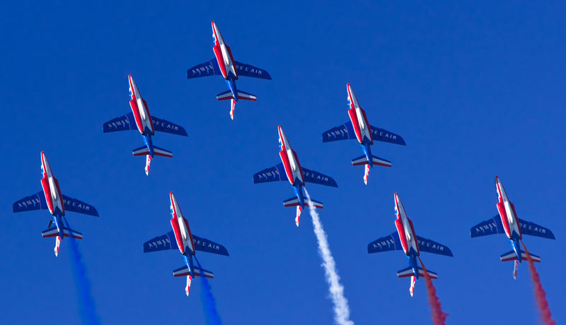 Patrouille de France - Meeting de France