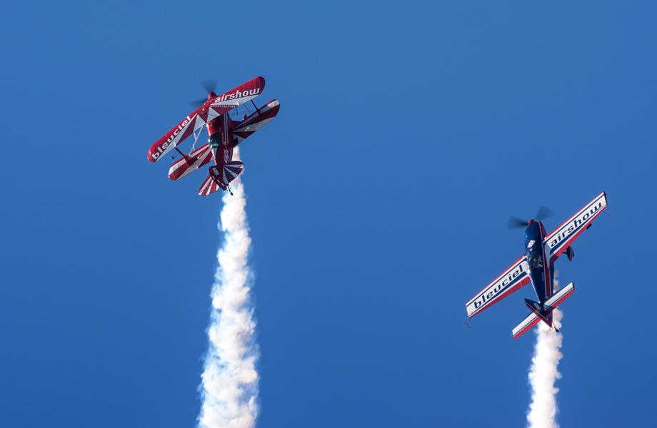 Bleuciel Airshow diapo 3 - organisation de shows aériens